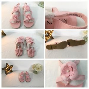 Pink sandals size 8.5